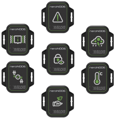 The nerospec neroNODE family Electronic devices, GPS Tracker